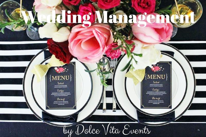 Wedding Day Management