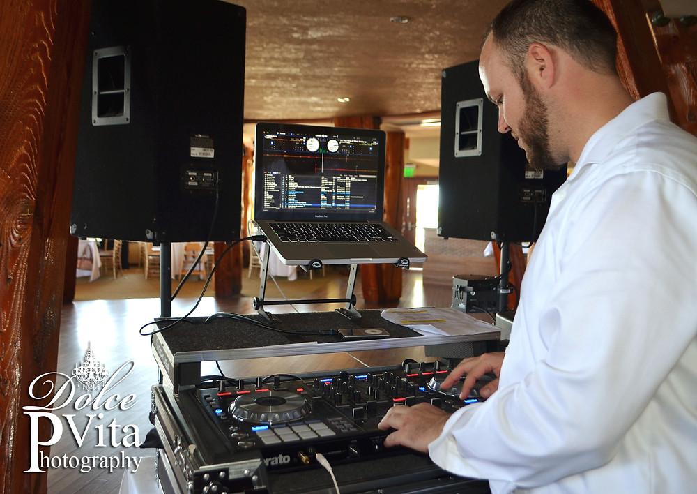 Wedding DJ service by Dolce Vita Events