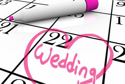 wedding planning calendar