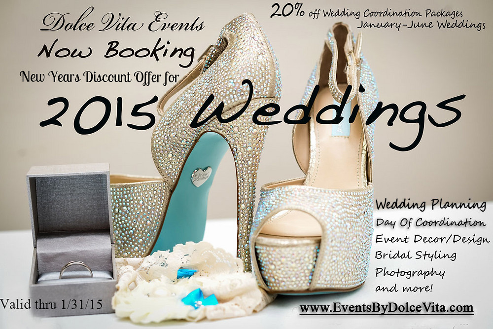Dolce Vita Events Wedding Planning Discount Offer