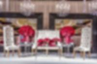 Chandelier Mirrors Event Design