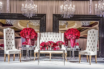 Chandelier Mirrors Event Design