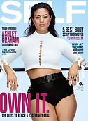 Self Magazine Ashley Graham Cover