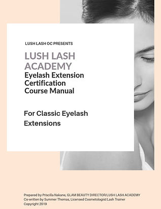 LUSH LASH ACADEMY Classic Lash Training