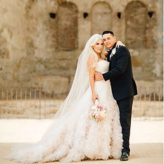 Mission San Juan Capistrano Wedding Design and Coordination by Dolce Vita Events