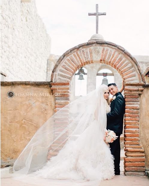 Mission San Juan Capistrano wedding by Dolce Vita Events. Photo credit Joanna Miriam Photography
