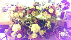 Wedding flower package by DVE