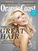 Gretchen Rossi Orange Coast Magazing Cover
