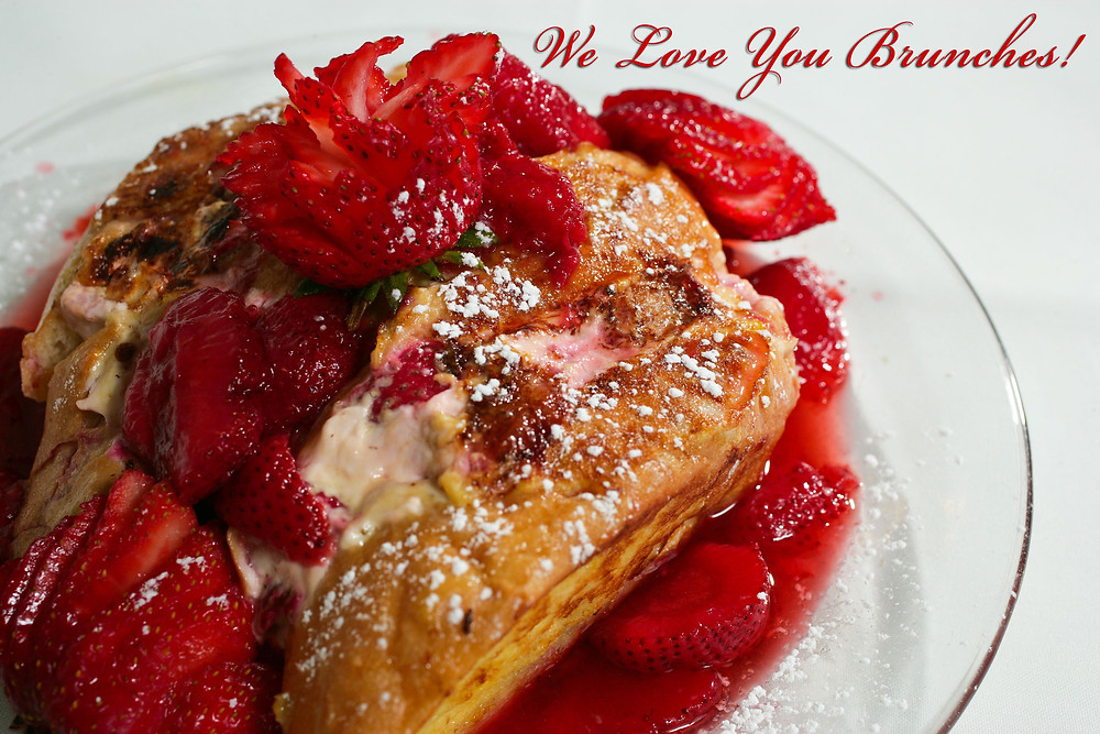 Strawberry cheesecake frenchtoast