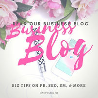 Public Relations Business Blog for Female Owners