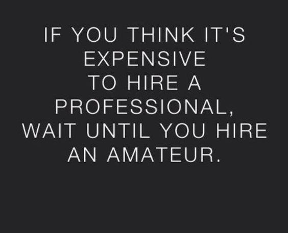 If You Think Hiring A Professional Like Dolce Vita Events is Expensive, Wait until You Hire an Amateur