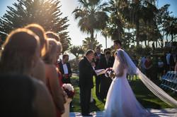 Laguna Beach wedding ceremony