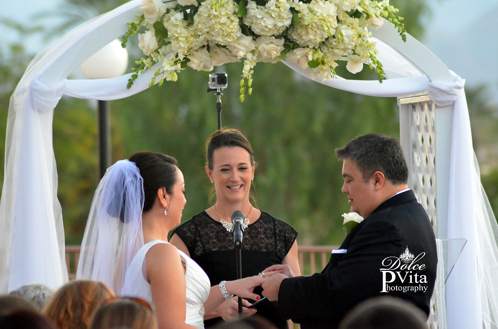 Dolce Vita Events Wedding Photography - Ring Exchange