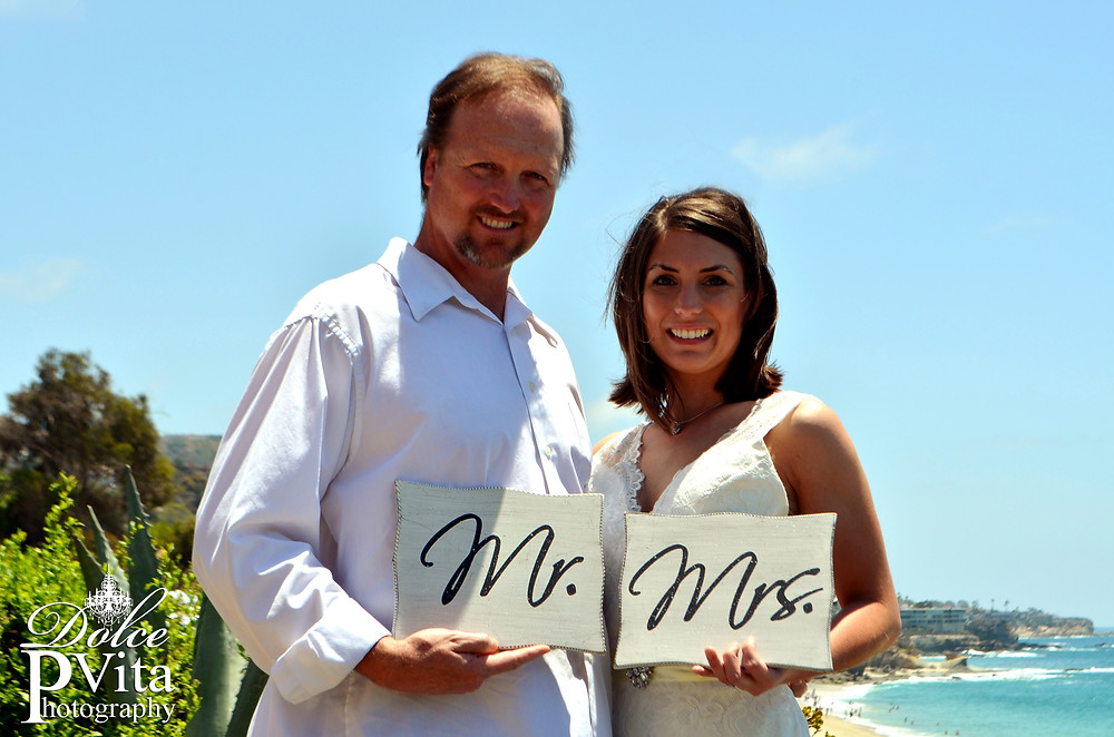 Heart n Hands Wedding Photo in Laguna Beach, Ca