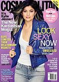 Kylie Kardashian Cosmopolitan Magazine Cover