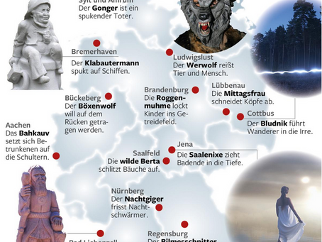 Germany's 13 scariest ghosts haunt here.