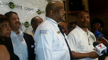 In an Effort to Combat Violence on the South Side, Chicago Police Superintendent Eddie Johnson met