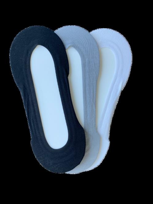 Black Bamboo Low Cut Liner Sock