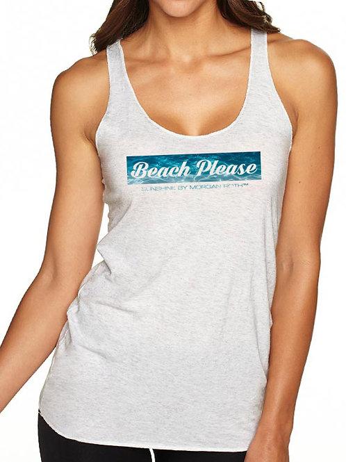 """""""Beach Please"""" Beach Cover-Up"""