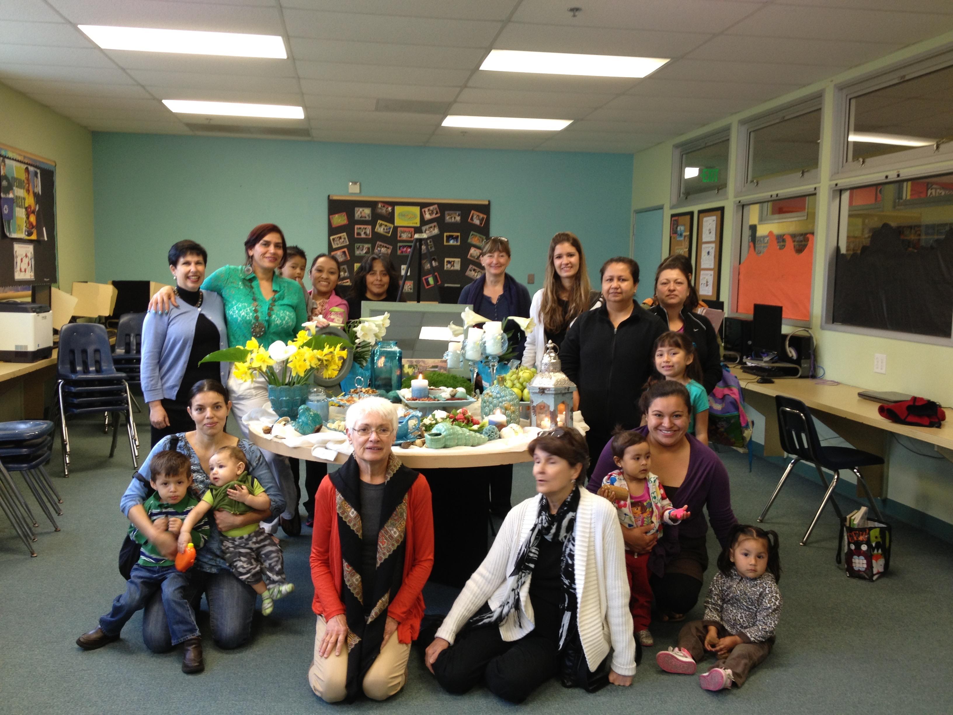 Easter celebrate_ESL teachers_students