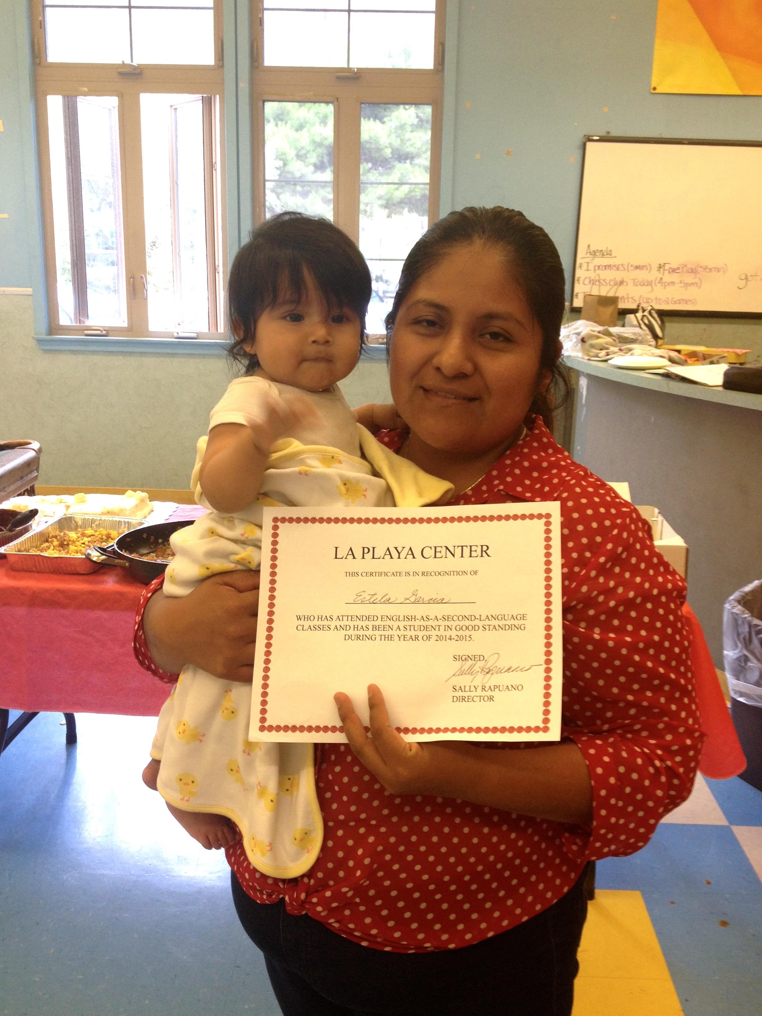 Estelle graduate