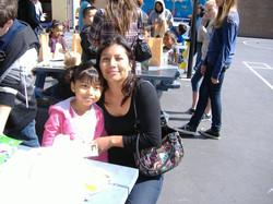 Easter egg Mom & Daughter