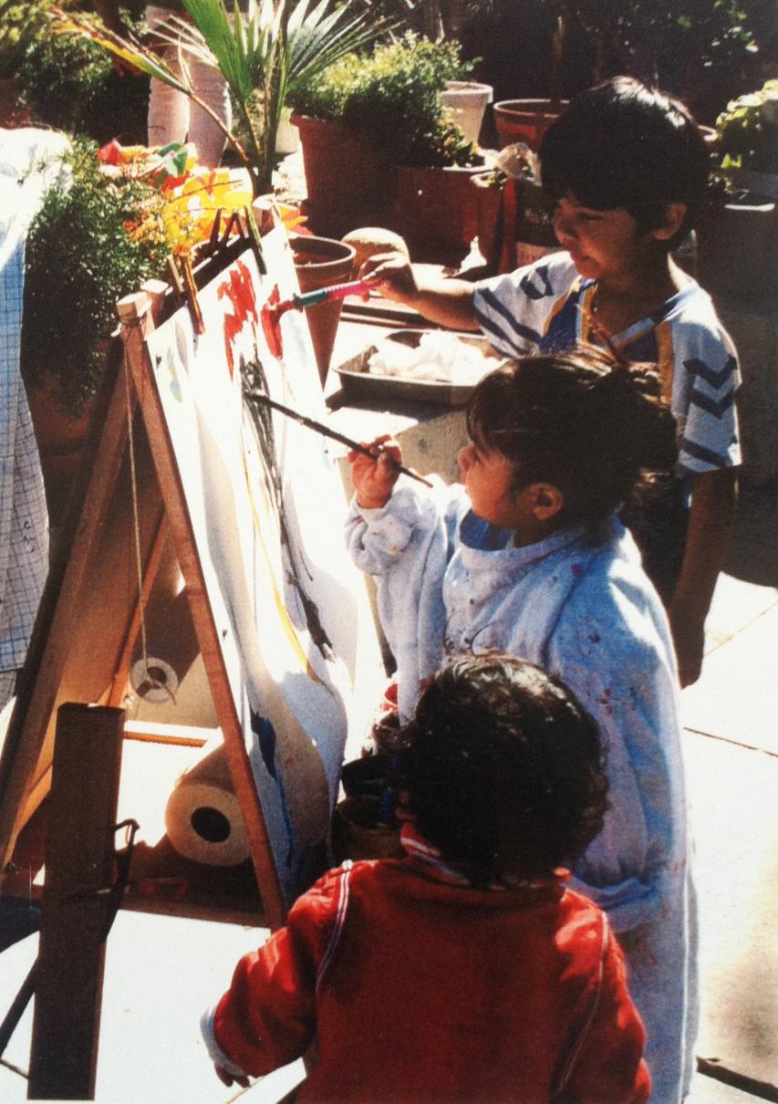 La Playa. Painting class