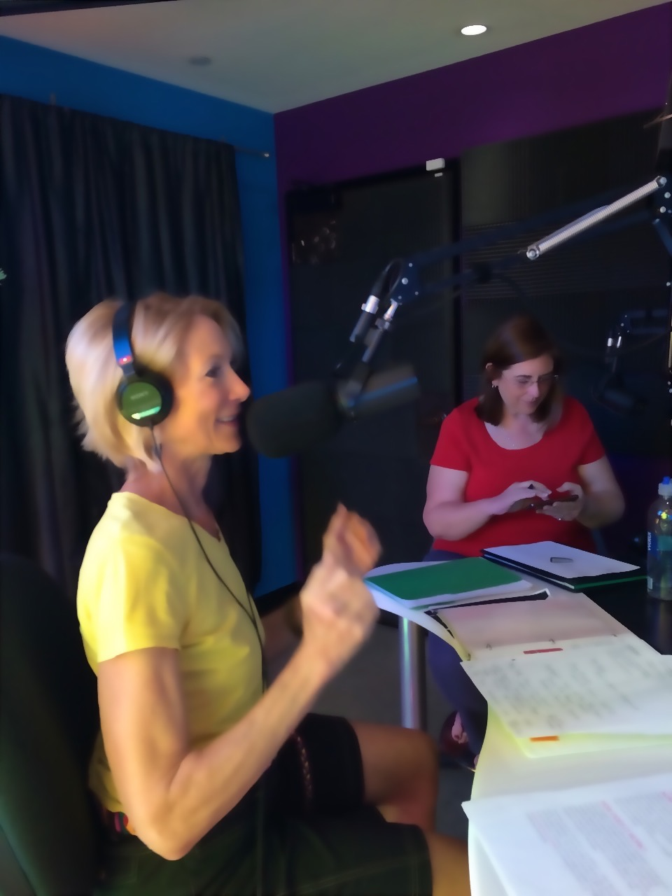 Executive Director, Mary G Schmidt. KX 93.5 Interview. Giving it up for iHeartOC Giving Day