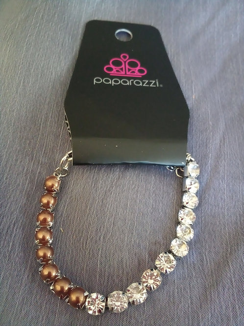 Multi-Copper Color Beads Bracelet