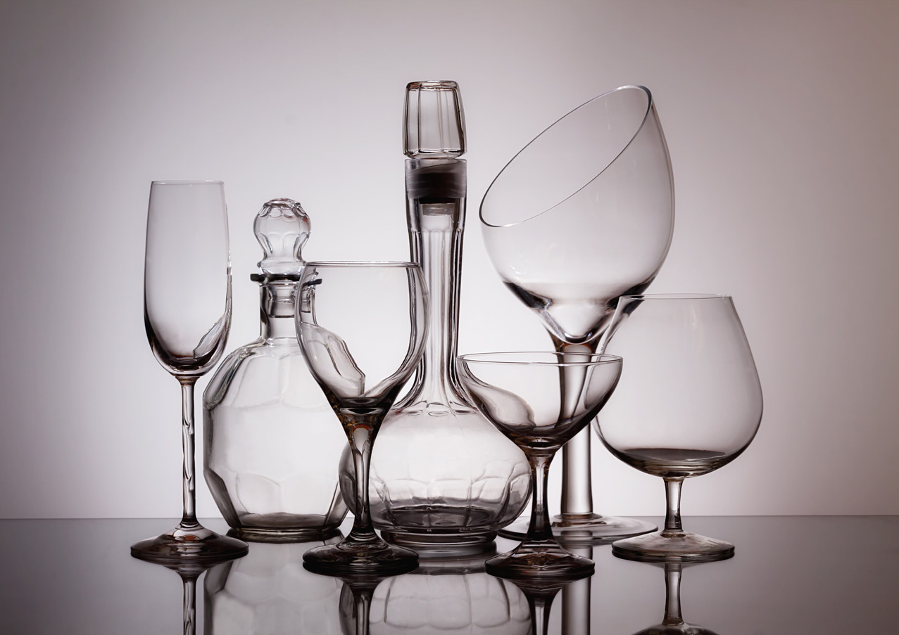 Wine Decanters with Glasses
