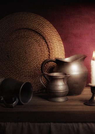 Candle Light Still Life