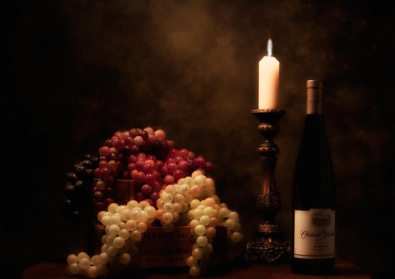 Wine Harvest Still Life