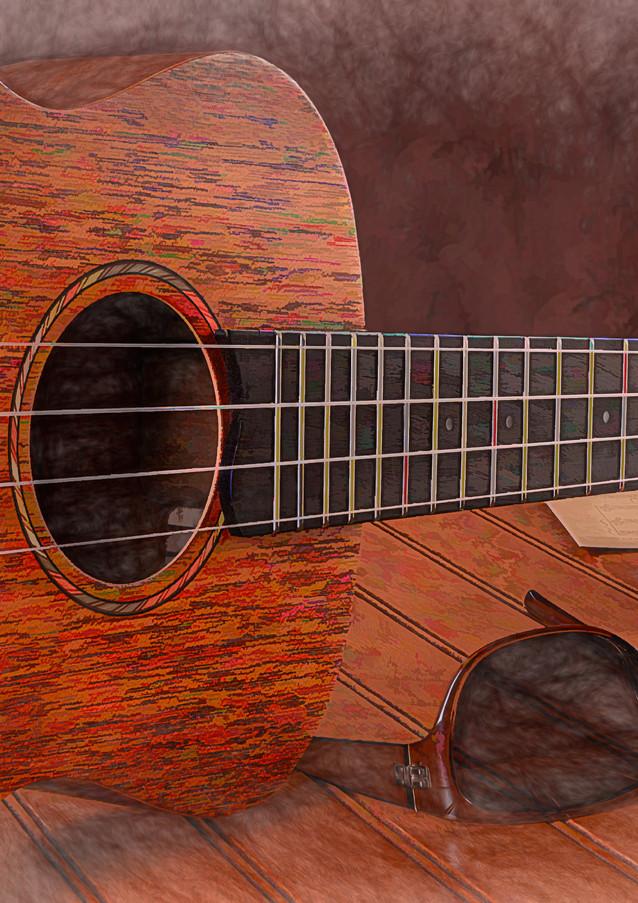 Small Guitar and Shades