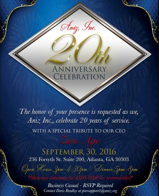 20th Anniversary Celebration