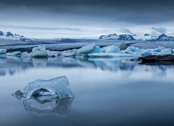 Jökulsárlón 1 / Iceland - FineArt