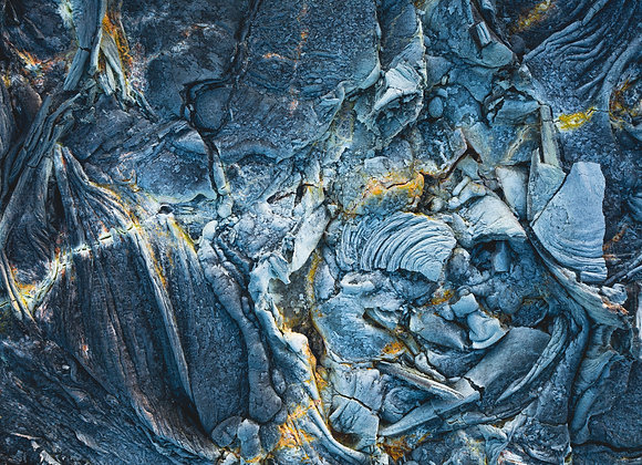 Fagradalsfjall - lava formations / Iceland - FineArt
