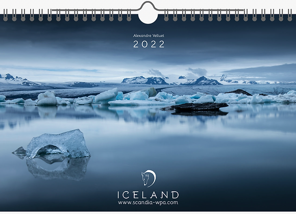 Calendrier 2022 - ICELAND