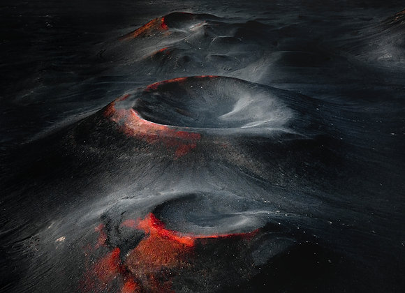 BLOODY CRATERS - FineArt