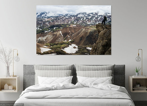 Landmannalaugar / Iceland - Dibond