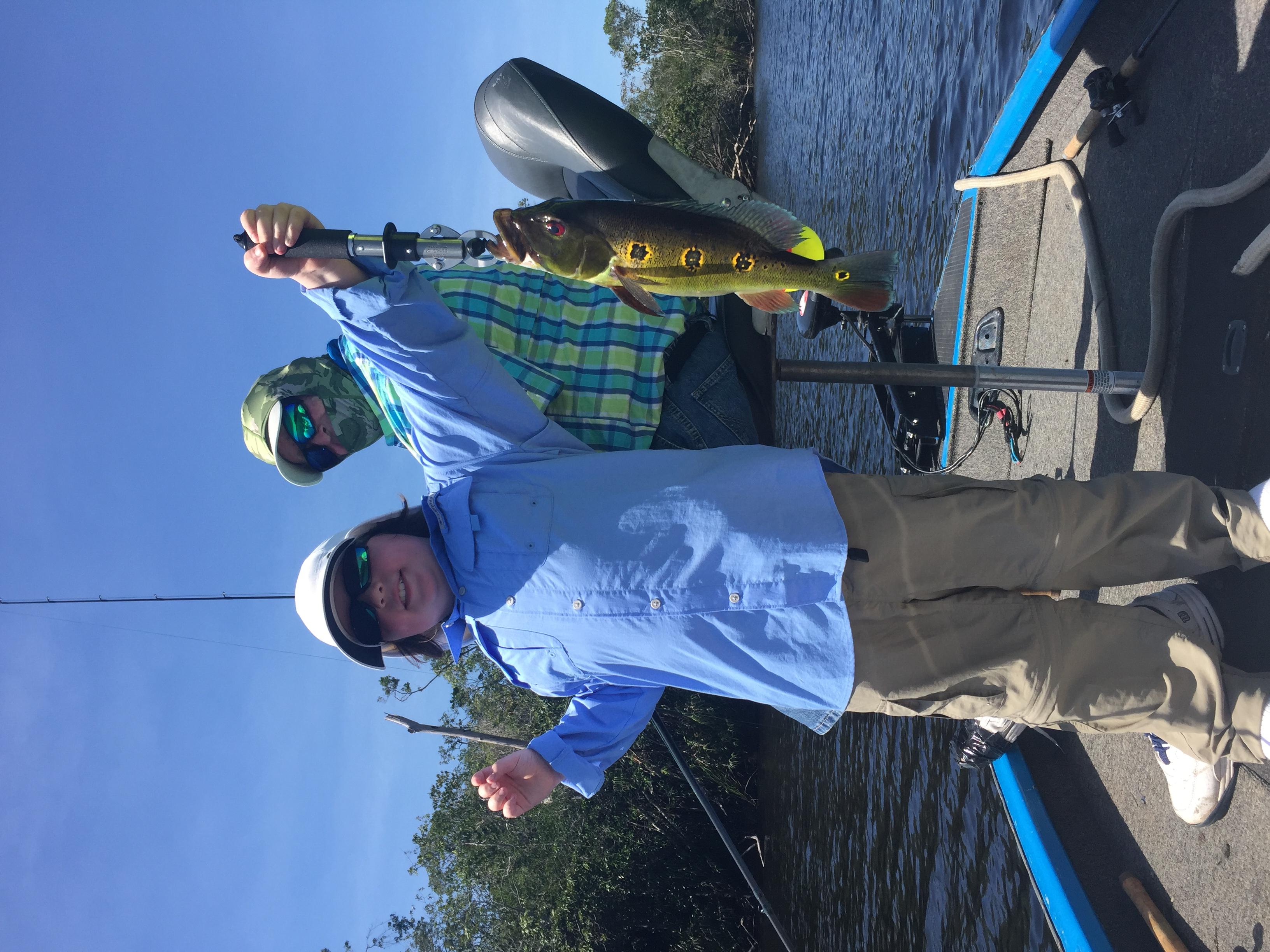 Peacock Bass Fishing Nov 13, 2015