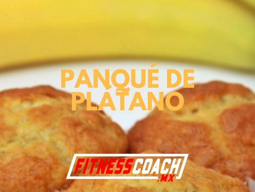 Pan de plátano sin harina ni azúcar y alto en proteína