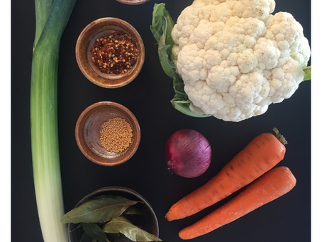 Mix de vegetais fermentados para dar cor às tuas saladas!