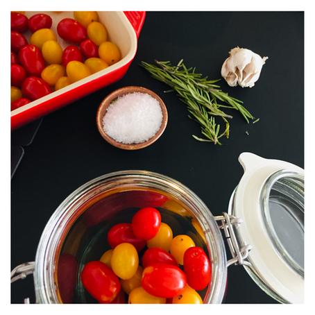 Tomate cereja lacto fermentado