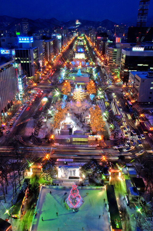 It's worth seeing! The Sapporo Snow Festival.