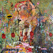 Marcelo Gandhi | Deadspin | Pintura sobre tela | 80x100cm