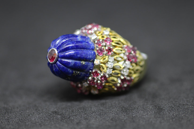Lapis Ruby Ring