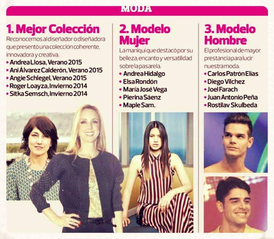 Nominación premios Luces del Diario