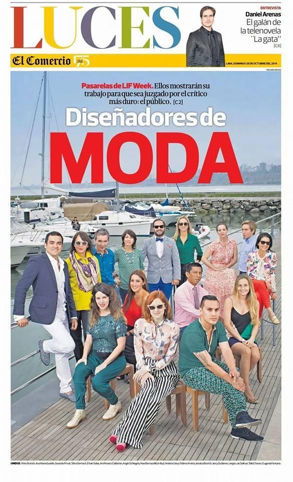 Portada de Luces Diario el Comercio