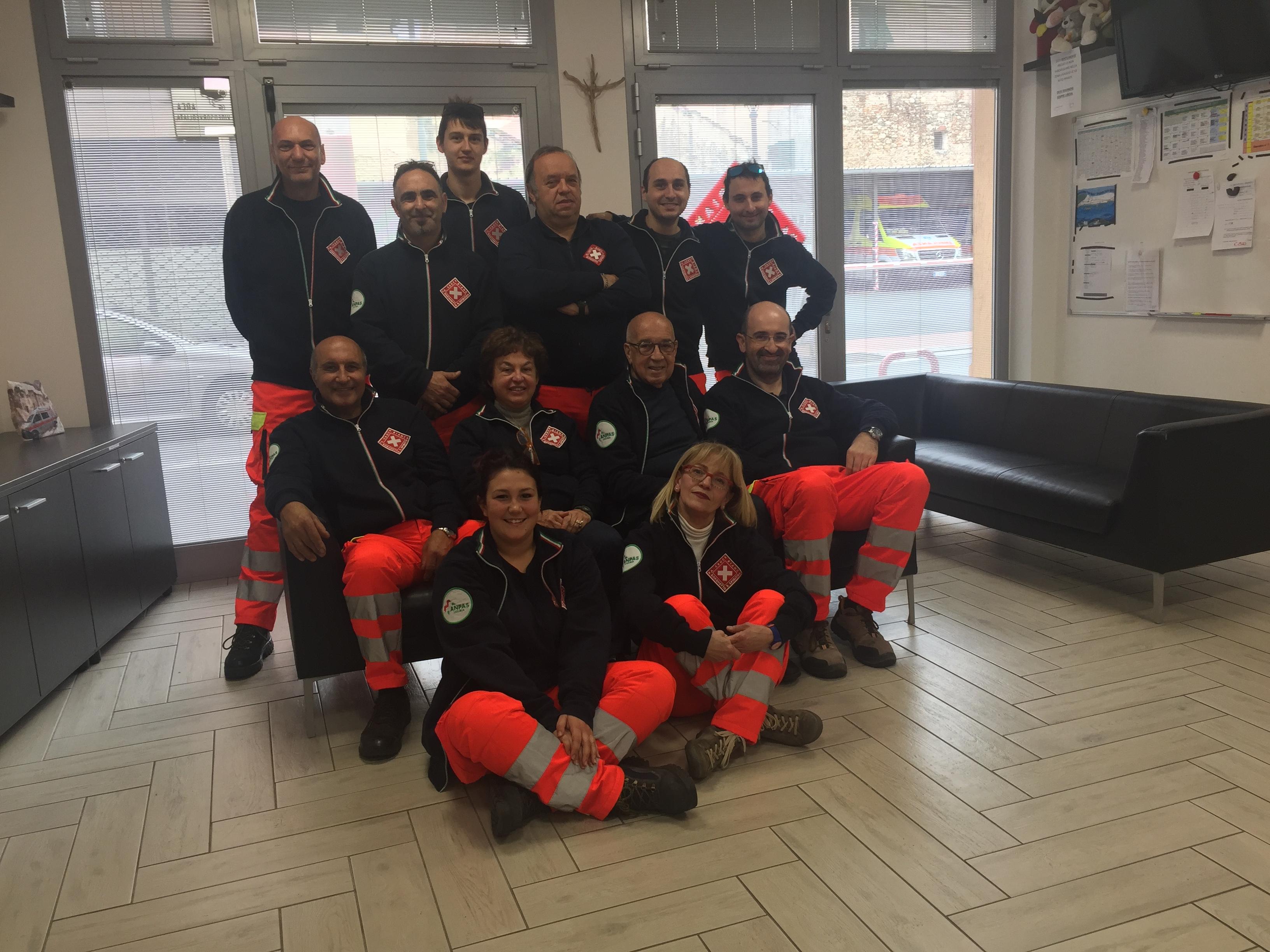 La squadra n°6 a novembre 2017