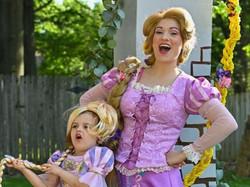 Rapunzel & mini Rapunzel